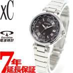 本日ポイント最大21倍! クロスシー シチズン エコドライブ 電波時計 ソーラー 腕時計 レディース ペアウォッチ EC1010-57F