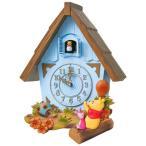 本日ポイント最大30倍!23時59分まで! セイコー カッコー時計 鳩時計 ハト時計 掛け時計 ディズニー くまのプーさん FW573L