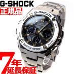 ポイント最大12倍! Gショック Gスチール G-SHOCK G-STEEL 電波ソーラー 腕時計 メンズ ブラック×ゴールド GST-W110D-1A9JF ジーショック