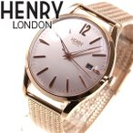 本日ポイント最大21倍! ヘンリーロンドン HENRY LONDON 腕時計 メンズ レディース HL39-M-0166