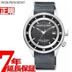 本日ポイント最大21倍! インディペンデント ソーラー 電波時計 腕時計 メンズ KL8-643-50