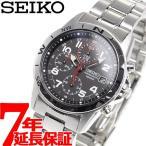 セイコー(SEIKO) 逆輸入 クロノグラフ SND375