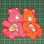 ショッピングケアベア お子様の入学バッグに! 人気のケアベアのアイロンワッペンはホントにキュート!「Care Bear」 定型郵便送料無料