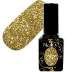 【NEW】Naility! ステップレスジェル 026 ラメバーストゴールド 7g 【UV&LED対応ポリッシュタイプソークオフカラージェルネイル用品】
