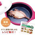NEW レンジクック ニューレンジクック 電子レンジ 調理器具 レンジ 調理 4367 焼く 煮る 炊く 焼き魚 一人暮らし 一人用 電子レンジ魚焼 炊飯  魚焼き