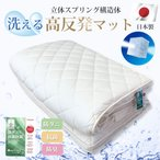 ねむりっち 東洋紡 ブレスエアー シングル 洗える 敷き布団 体圧分散 マット ブレスエアー 敷布団 日本製