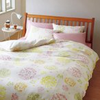 枕まくら 枕カバー ピローケース カジュアルなリーフ柄 枕カバーピロケース 45×65cm 西川