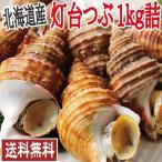 お中元 ギフト プレゼント 北海道産 ボイル冷凍 灯台つぶ 1kg詰 (送料無料 北海道 つぶ ツブ BBQ)