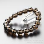 パワーストーン 数珠 ブレスレット スモーキークォーツ 腕輪念珠  12ミリ