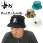 ステューシー(STUSSY) SS-Link SP16 Bucket Hat ハット/帽子[AA]