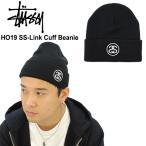 ステューシー STUSSY HO19 SS-Link Cuff Beanie ビーニー ニット帽 [小物] [AA-2]