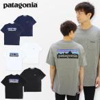パタゴニア patagonia メンズ P-6ロゴ ポケット レスポンシビリティー S/SL  Mens P-6 Logo Pocket Responsibili-Tee   半袖 Tシャツ メンズ [AA]
