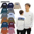 パタゴニア patagonia メンズ ロングスリーブ P-6ロゴ レスポンシビリティー L/SL  Mens Long-Sleeved P-6 Logo Responsibili-Tee   長袖 ロンT Tシャツ[AA]