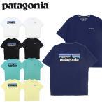 パタゴニア patagonia メンズ P-6ロゴ オーガニック コットン S/SL  Mens P-6 Logo Organic Cotton T-Shirt  メンズ 半袖 Tシャツ [AA-2]