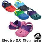 クロックス(CROCS) エレクトロ 2.0 クロッグ(Electro 2.0 Clog) サンダル(ベビー&キッズ 子供用)[AA]
