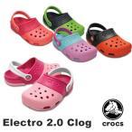 ショッピングジビッツ クロックス(CROCS) エレクトロ 2.0 クロッグ(Electro 2.0 Clog) サンダル(ベビー&キッズ 子供用)[AA]