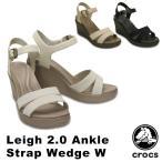 クロックス(CROCS) レイ 2.0 アンクル ストラップ ウェッジ ウィメン(leigh 2.0 ankle strap wedge w) /レディース サンダル(女性用)