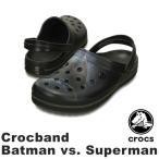 クロックス(CROCS) クロックバンド バットマン vs. スーパーマン(crocband Batman vs. Superman) メンズ/レディース サンダル/カイロ・レン(男女兼用)