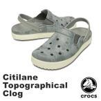 ショッピングサボ クロックス(CROCS) シティレーン トポグラフィカル クロッグ(citilane topographical clog ) メンズ/レディース サンダル