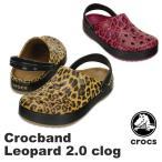 ショッピングcrocband クロックス(CROCS) クロックバンド レオパード 2.0 クロッグ(crocband leopard 2.0 clog) メンズ/レディース サンダル