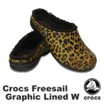 クロックス(CROCS)クロックス フリーセイル グラフィック ラインド ウィメン(crocs freesail graphic lined w) /レディース サンダル (r)