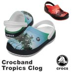 ショッピングサボ クロックス(CROCS) クロックバンド トロピックス クロッグ(crocband tropics clog ) メンズ/レディース サンダル(男女兼用)