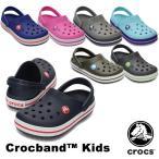 クロックス(CROCS) クロックバンド キッズ/ホールサイズ(crocband kids) サンダル[AA]
