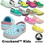 クロックス CROCS  クロックバンド キッズ ホールサイズ crocband kids  サンダル[AA]