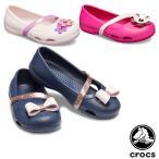クロックス CROCS クロックス リナ チャーム フラット キッズ crocs lina charm flat kids  シューズ[AA]
