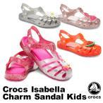 クロックス CROCS クロックス イザベラ チャーム サンダル キッズ crocs isabella charm sandal kids サンダル ベビー キッズ 子供用 [AA]