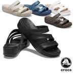 クロックス CROCS クロックス モントレー ストラッピー ウェッジ ウィメン crocs monterey strappy wedge w レディース サンダル 女性用 [AA]
