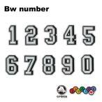 クロックス CROCS ジビッツ jibbitz ナンバー 数字 bw number クロックス シューズアクセサリー [SKY] [小物] [AA-1]