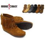 MINNETONKA Hi Top Back Zipper Boot ミネトンカ ハイトップ バックジッパー ブーツ(292-293-297-299-291t)