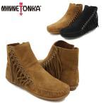 ショッピングMINNETONKA ミネトンカ(MINNETONKA) ウィロー ブーツ(Willow Boot) レディース/ウィメンズ用 モカシン シューズ