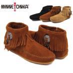 ショッピングMINNETONKA ミネトンカ(MINNETONKA) コンチョ フェザー サイドジップブーツ(Concho Feather SideZip)