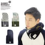ショッピングネックウォーマー ノマド(NOMADO/SUNNY NOMADO) HOT-KAMURI GRAPHIC/フリース/ネックウォーマー/ほっかむり/防寒[AA]