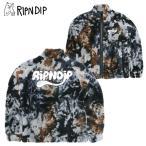 リップンディップ(RIPNDIP) RIPNTAIL Sherpa Jacket Tie Dye  シェルパ フリース ジャケット/もこもこ アウター/男性用/メンズ 送料無料 【32】[BB]