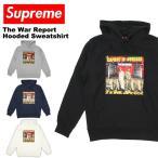 シュプリーム(SUPREME) The War Report Hooded Sweatshirt(ザ ウォー リポート フーデッド スウェット)フードパーカー/プルオーバー/男性用/メンズ[CC]