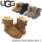 ショッピングアグ アグ オーストラリア(UGG Australia) ウィメンズ ミニ ベイリーボウ 2(Women's MIni Bailey Bow 2)シープスキンブーツ/ムートンブーツ