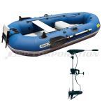 釣り ゴムボート ミニボート フィッシングボート アクアマリーナ CLASSIC クラシック300 ET-30 エレキモーター セット 4人乗り