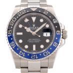 ロレックス ROLEX GMTマスターII 116710BLNR GMT 【リッチタイム】 【中古】
