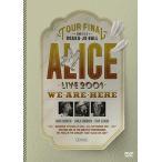 【送料無料選択可】アリス/ALICE LIVE 2001 WE ARE HERE at 大阪城ホール