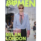 【送料無料選択可】gap PRESS MEN Vol.50 2018 Spring & Summer MILAN / LONDON (gap PRES