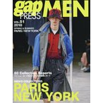 【送料無料選択可】gap PRESS MEN vol.51(2018Spring & Summer) (gap PRESS COLLECTIONS)/