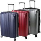 スーツケース キャリーケース キャリーバッグ TSAロック L サイズ 大型 4〜7日用 約80L BERMAS バーマス 60254 83L 代引不可