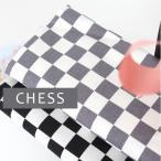 【コットン】北欧スタイルチェスボード2color/オックスフォード