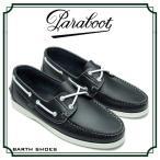 パラブーツ 革靴 paraboot BARTH SHOES 7800-19 Lisse Navy 短靴 デッキシューズ コンフォートシューズ タウンシューズ カジュアル