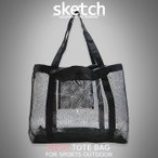 есе├е╖ехе╚б╝е╚е╨е├е░ sketch Mesh tote bag е╨е├е░едеєе╨е├е░ еие│е╨е├е░ е╚б╝е╚е╨е├е░ ┤▌└Ўдд енеуеєе╫ е╨б╝е┘енехб╝ евеже╚е╔ев е╣е╬б╝е▄б╝е╔