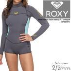ロキシー ウェットスーツ 女性 長袖 ROXY long sleeve back zip FLT springsuit ERJW403014サーフィン