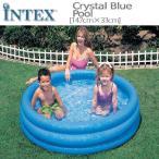 ショッピング家庭用 [限定特典][あす楽]INTEXクリスタルブループール ME-7011 58426NP CRYSTAL BLUE POOL インテックス シンプル 家庭用